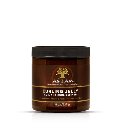 As i am curly jelly